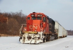 CN 6118 at Irvine Yard in Chippewa Falls